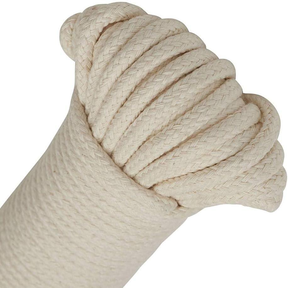 Huadep Cuerdas de artesanía,de algodón Natural,de jardín,de Uso ...