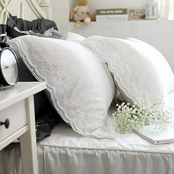 Amazon.com: Coliang Hermosa funda de almohada, a la moda, 2 ...