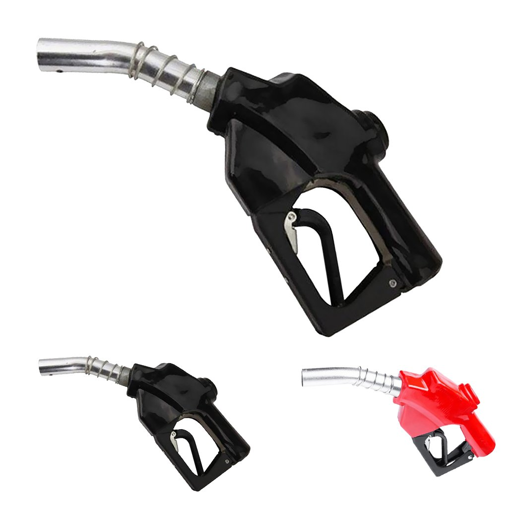 MagiDeal Bomba de Combustible Gasolina Gasoil de Entrega Automática Bombas Boquilla Dispensador Manguera Negro: Amazon.es: Bricolaje y herramientas