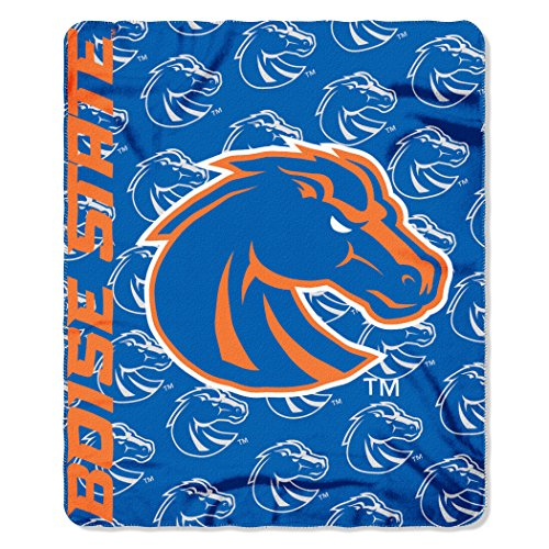 - The Northwest Company Officially Licensed NCAA Boise State Broncos Mark Printed Fleece Throw Blanket, 50