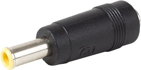 DC Strom 3,5x1,35mm Stecker auf 5,5x2,1mm Buchse Jack Adapter DC Stecker