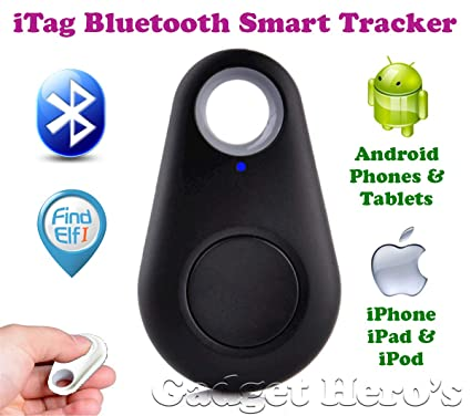 Gadget Hero's iTag Bluetooth Tracer Anti-Lost Alarm: Amazon
