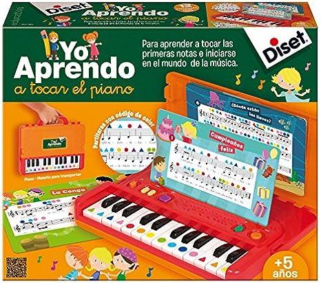 Diset-Yo aprendo a Tocar el Piano (63745)
