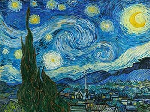The Starry Night Poster Print by Vincent Van Gogh