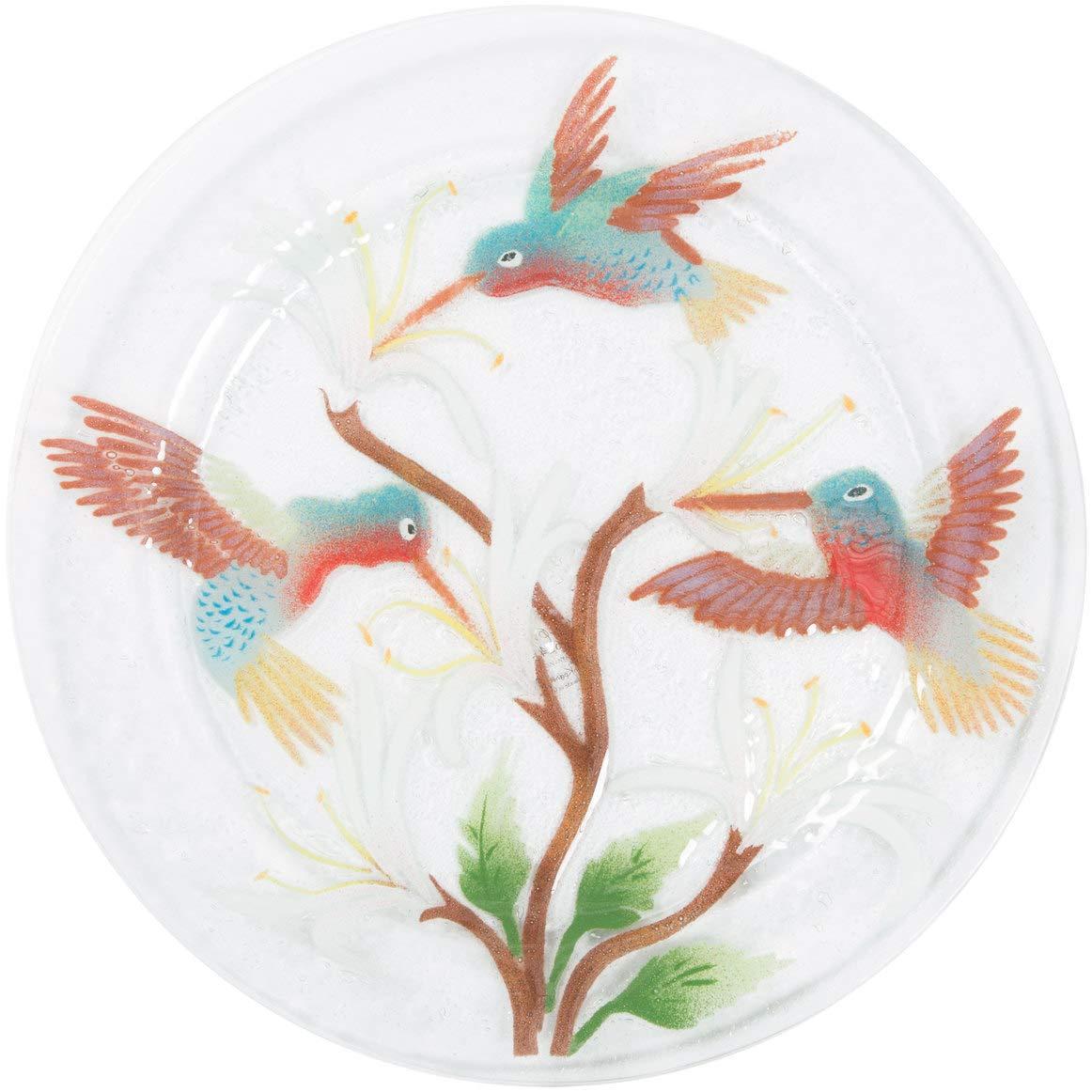 Hummingbird 11 Round Serving Plate Pavilion Gift Company 56241 Pavilion