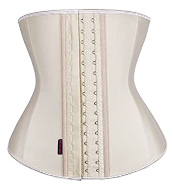 9fc92dec4 DilanniTrainer Corset - Premium Woman Waist Training Cincher   Body Shaper  Apricot 4XL