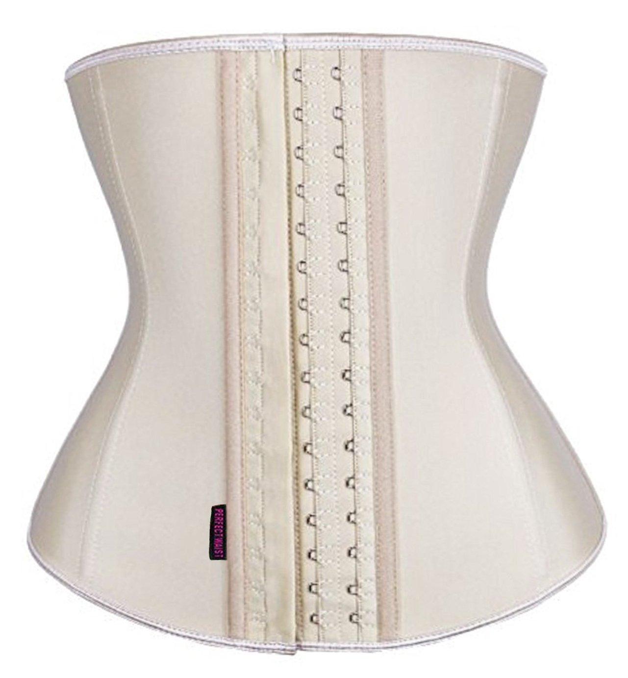 DILANNI Women's Waist Trainer Belt - Body Shaper Belt for an Hourglass Shaper Apricot M