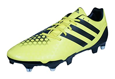 adidas Incurza Elite SG Mens Rugby Boots-Yellow-8.5 61b80ce402