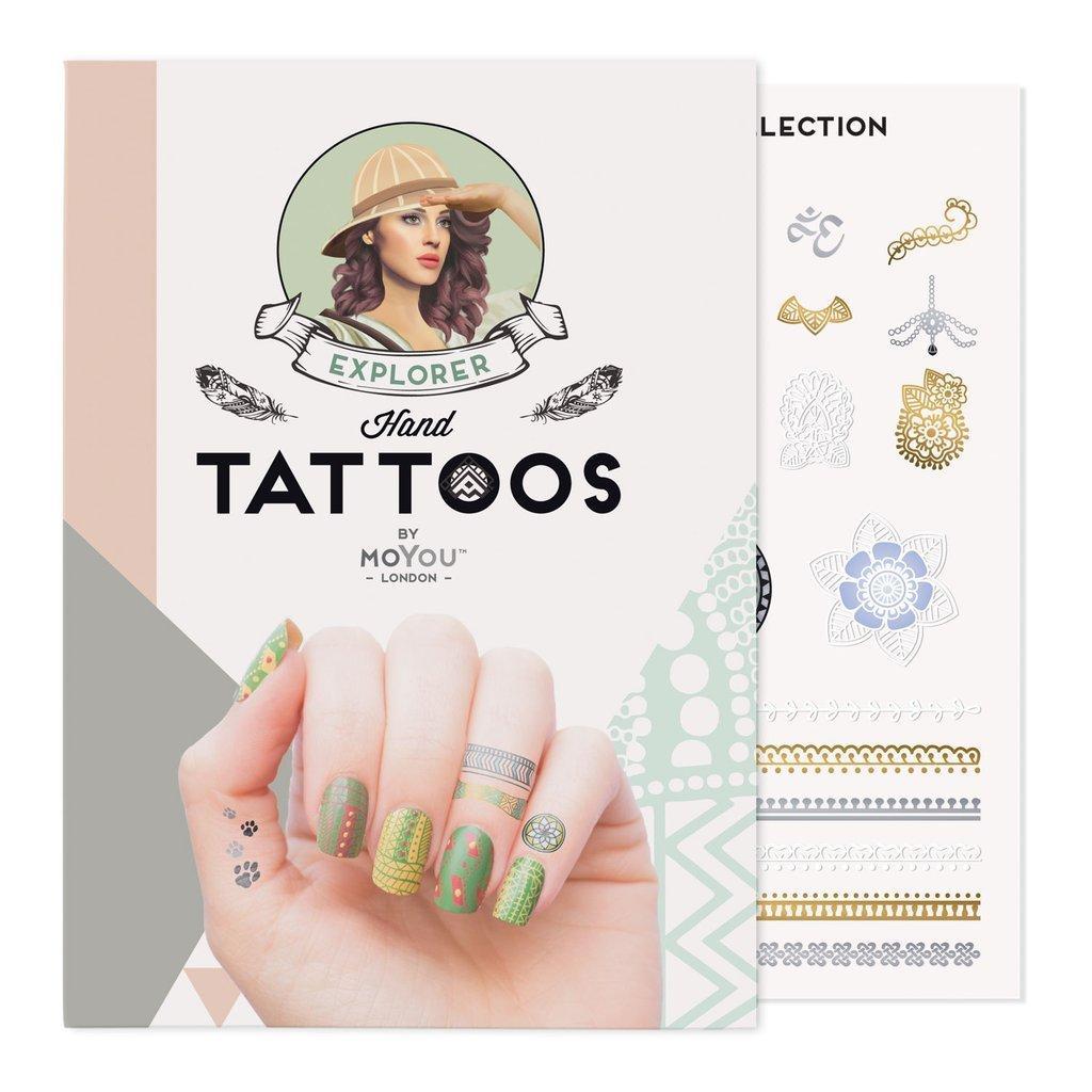 Steampunk Tattoo Colour 01 MoYou Marketing Ltd