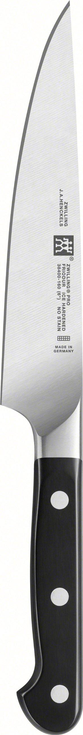 Zwilling 38400-161-0 Pro Original Slicing Knife, Silver/Black