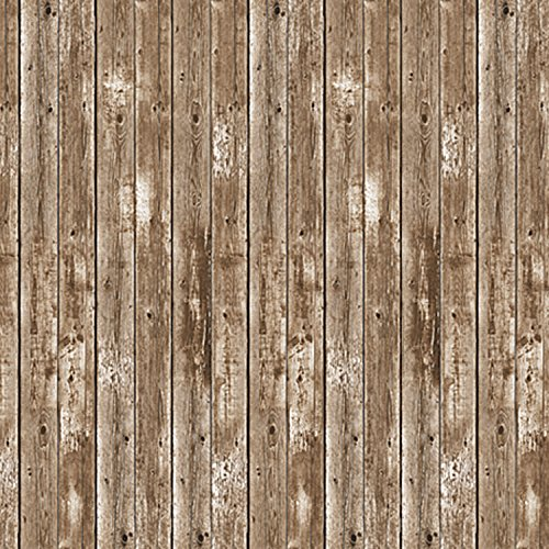 Beistle 52041 Barn Siding Backdrop Party Accessory, 4-Feet by 30-Feet ()