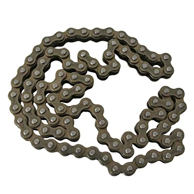 WhatApart 90 Link Cam Timing Chain (Size #25) Compatible with LIFAN 125cc Dirt Bike Engine Timing Chain (CAM Chain) 45 LINKS/90 Links Both Side: Toys & Games