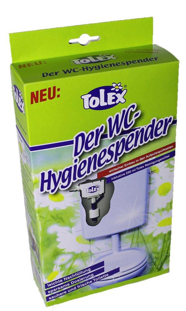 Tolex - WC Higiene dispensador | WC limpiador para - Cisterna alta con: Amazon.es: Bricolaje y herramientas