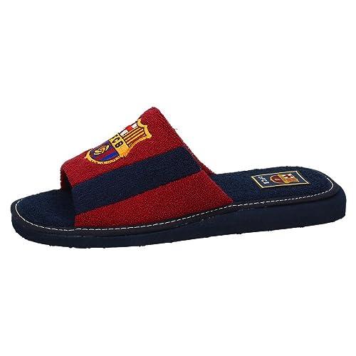 ANDINAS 591-50 FC Barcelona Verano Hombre Zapatillas CASA Granate 42: Amazon.es: Zapatos y complementos