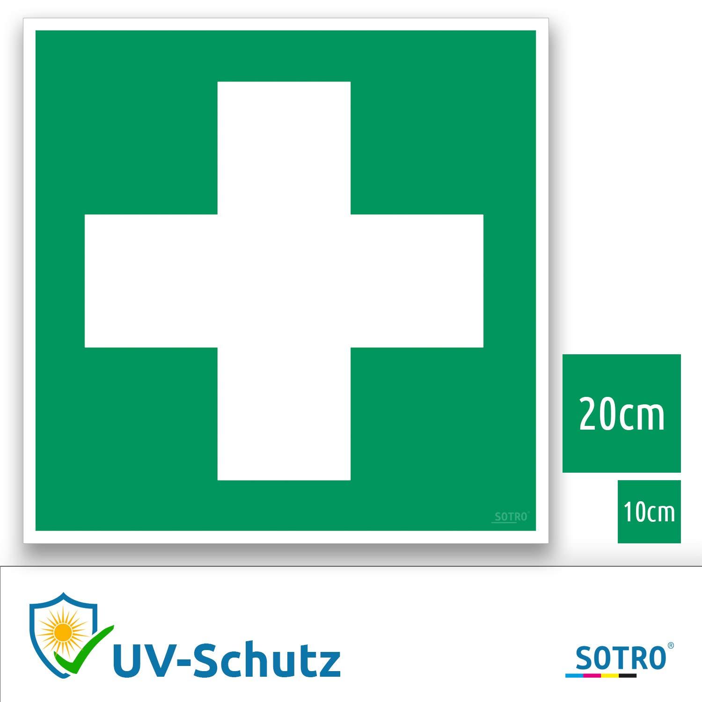 Primeros Auxilios Adhesivos Caracteres con protección UV ...