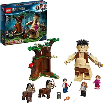 Lego 75967 Harry Potter Der Verbotene Wald Begegnung Mit Umbridge Bauset Mit Dem Riesen Grawp Und 2 Zentauren Figuren Amazon De Spielzeug