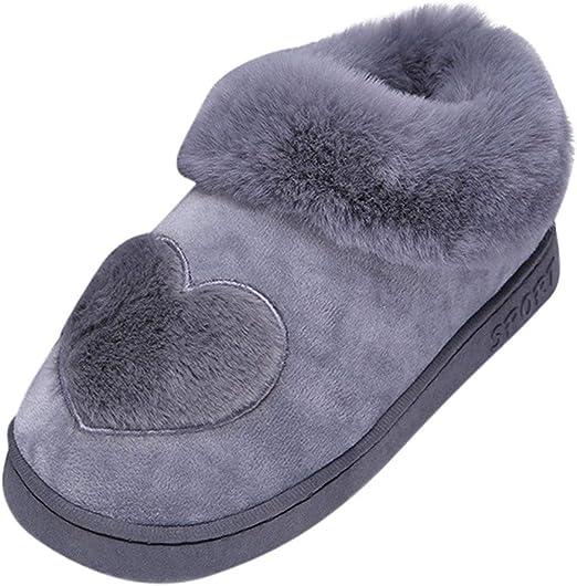 warme Hausschuhe Damen Herren Pantoletten Haussocken Bettschuhe