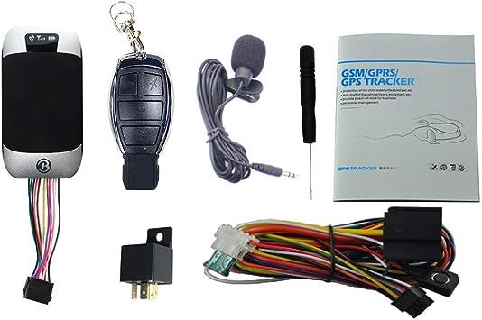 Sistema de Seguimiento de GPS para Coche ATIAN gsm/GPRS/GPS con Sistema de Seguimiento de Google Maps: Amazon.es: Electrónica