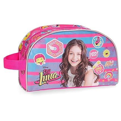 Disney Yo Soy Luna Neceser de Viaje, 4.99 litros, Color Rosa