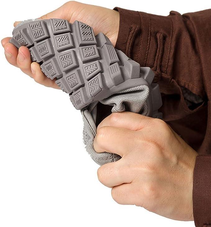 /Zapatos de monje Shaolin artes marciales zapatos Kung Fu Zapatillas suela de goma antideslizante calzado transpirable y c/ómodo para UNISEX gris ZOOBOO budista doble/