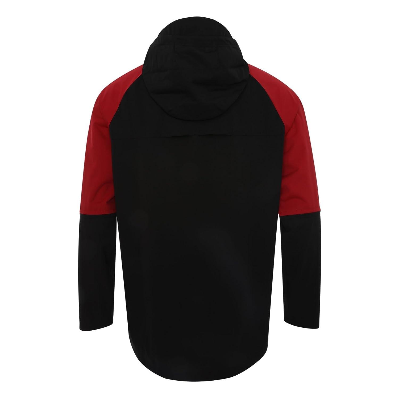 775f046b1a7e Amazon.com  Liverpool FC Black Mens Soccer Training Precision Rain Jacket 18  19 LFC Official  Sports   Outdoors