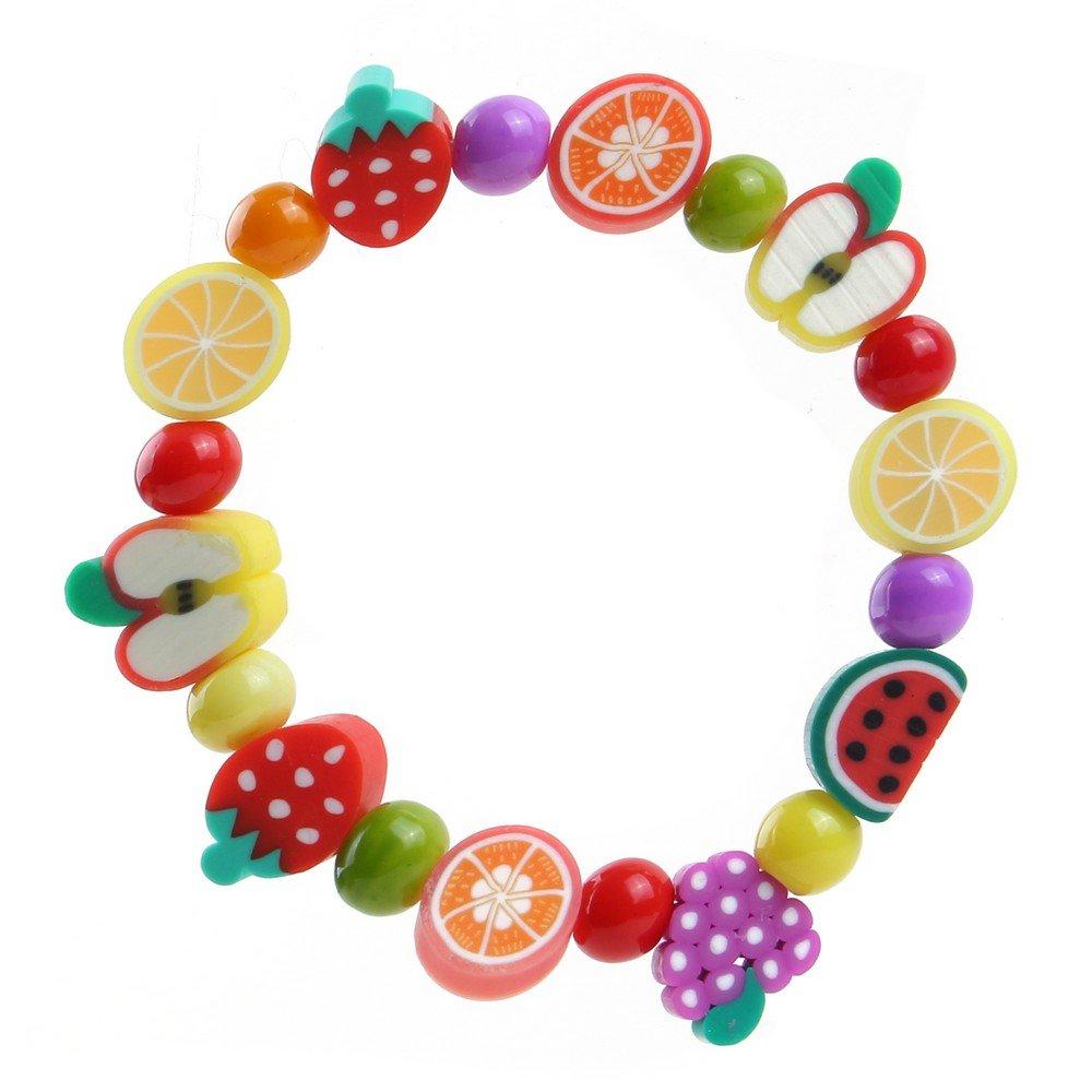 Joe Cool Bracelet Kids Tutti Frutti Made with Fimo