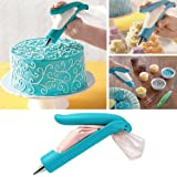 HeroNeo® Pastry Nozzle Tips SugarCraft Fondant Cake Icing Piping Bag Decorating Pen Set