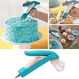 HeroNeo® Pastry Nozzle Tips SugarCraft Fondant Cake Icing Piping Bag Decorating Pen Set