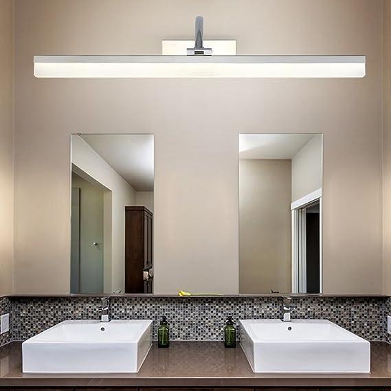 Wasserdichte Anti Fog Badezimmer Spiegel Frontleuchte Drei Farbe