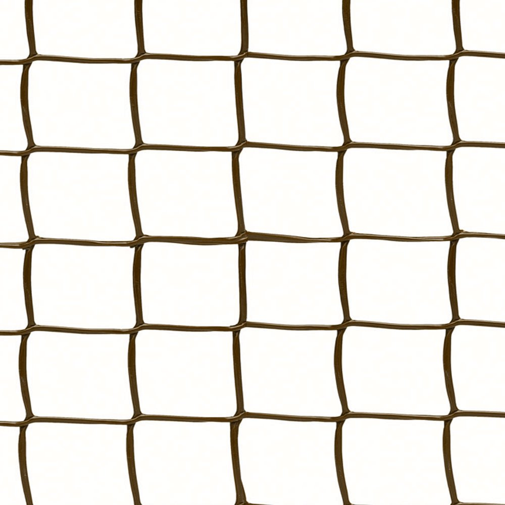 0.5m x 5m Climbing Plant Support Mesh Plastic Garden Net Clematis Trellis Brown