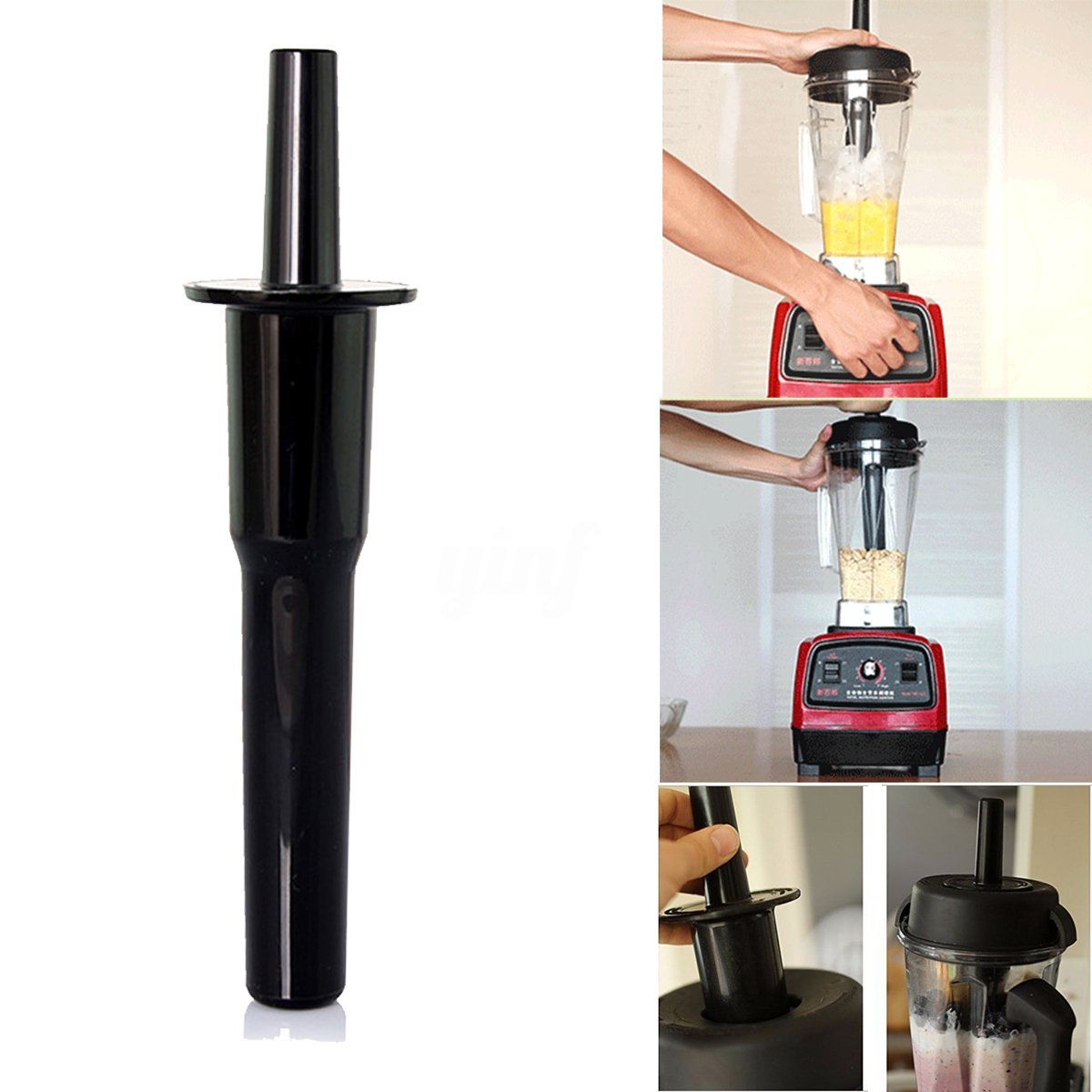 Vitamix Tamper Tool for Classic 64-Once Containers | NutriGear Accelerator Tool for Vitamix Blenders Best Accessories