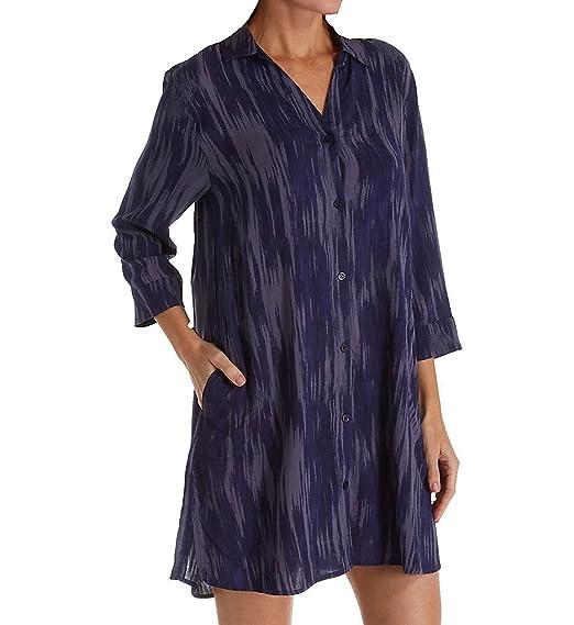 021485a8dec8e Donna Karan Women's Satin Sleepshirt at Amazon Women's Clothing store: