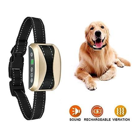 Amazon com : Hangang Rechargeable No Shock Dog Barking Control