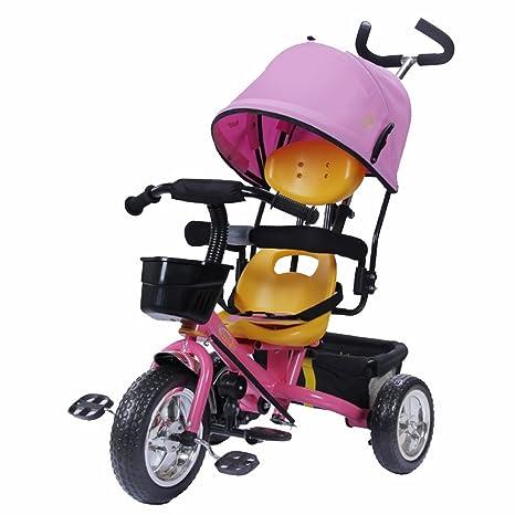 Triciclos niños Bicicleta 1-4 años Carrito de bebé Carrito ...