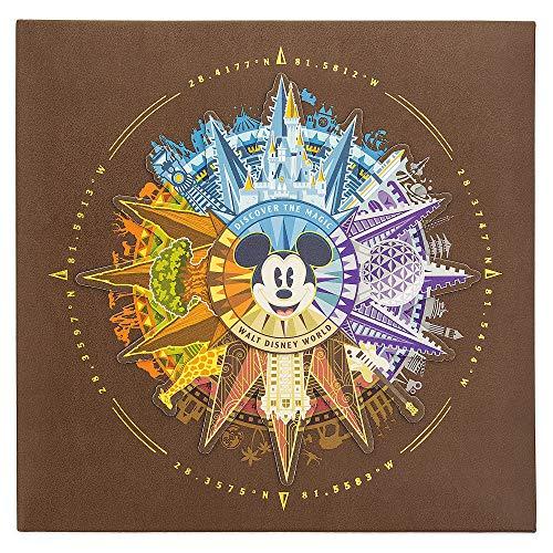 (Disney Photo Album Mickey Mouse Compass 2018 Scrapbook - 4x6 200 Photos)