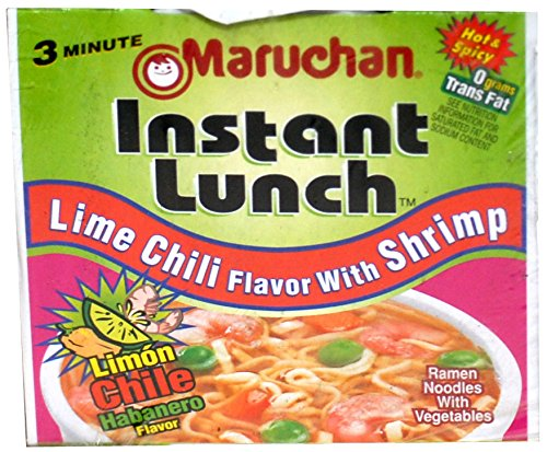 Maruchan Instant Lunch; Lime Chili Flavor with Shrimp; 24 Pack; 2.25 oz each ()