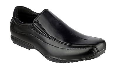 Mirak Mirak Clipper Boys School Shoes Black Size 12 yQEf4