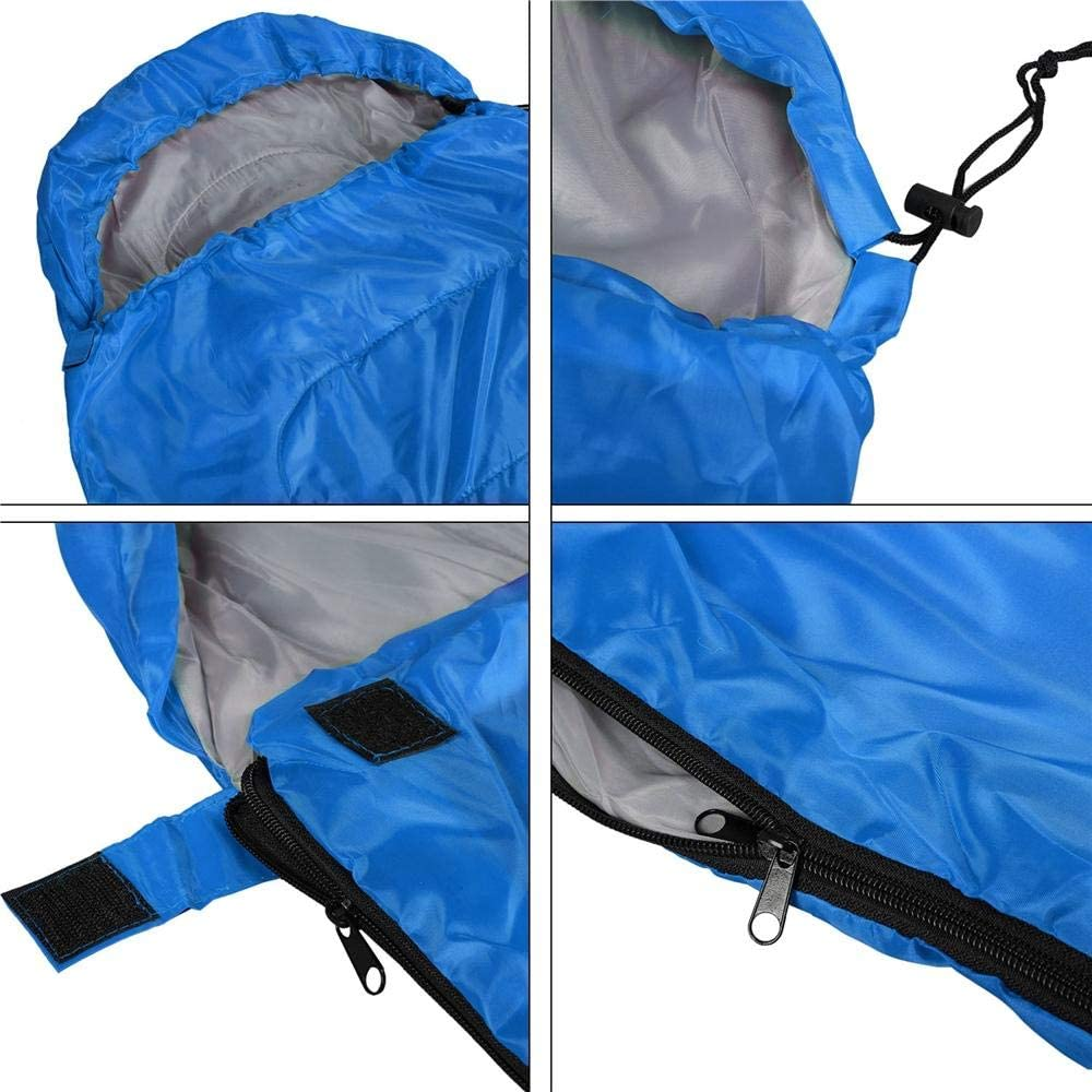 Yaheetech Sleeping Bags with Hoods for Adults//Kids Camping//Travel//Hiking//Backpacking 3 Season Lightweight Compression Sack Envelope//Rectangular Sleeping Bags