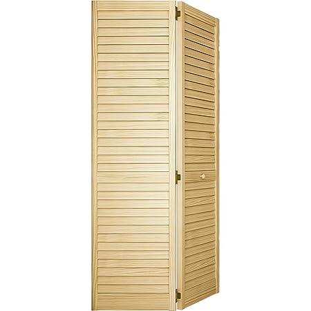 Bi Fold Door, Louver Louver Plantation 1x24x80   Closet Storage And  Organization Systems   Amazon.com