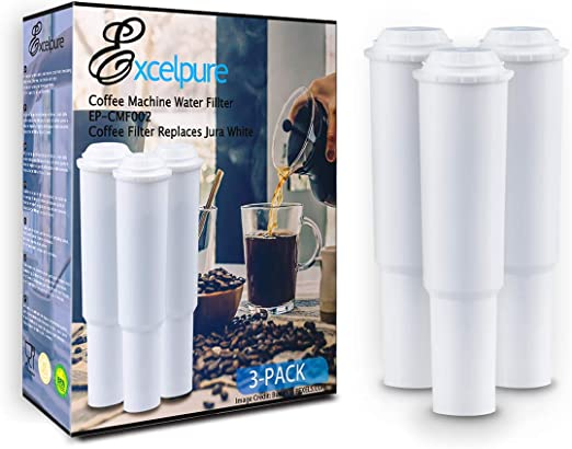 3 Water Filter Cartridge for Jura-Capresso IMPRESSA E8