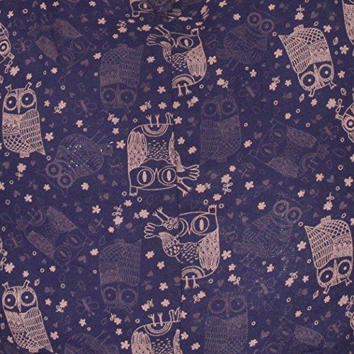 Bohemian Purse Midnightblue Cute Boho Hippie Crossbody Bag Shoulder Hobo Owl 8TWPp
