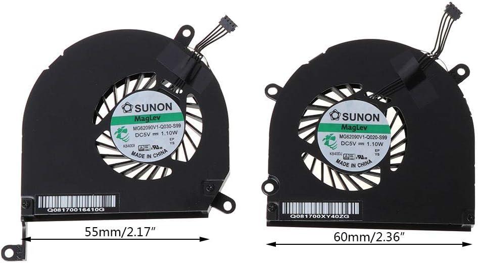 Viesky A1286 Fan - Ventilador de refrigeración para MacBook Pro de ...