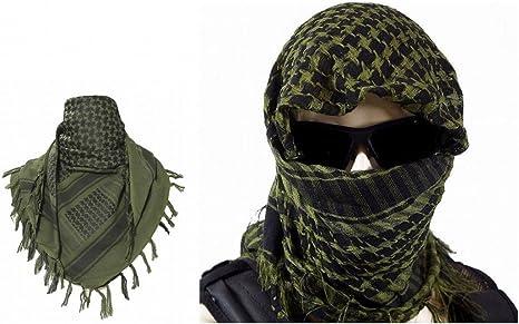 ARUNDEL SERVICES EU Verde Shemagh árabe Toca árabe Chal de algodón ...