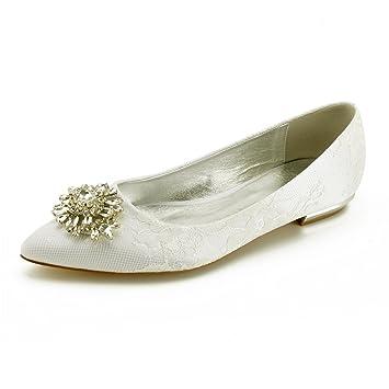 Tacón Acentuado Mujeres Satén Zapatos De Las Zxstz qwp6PY