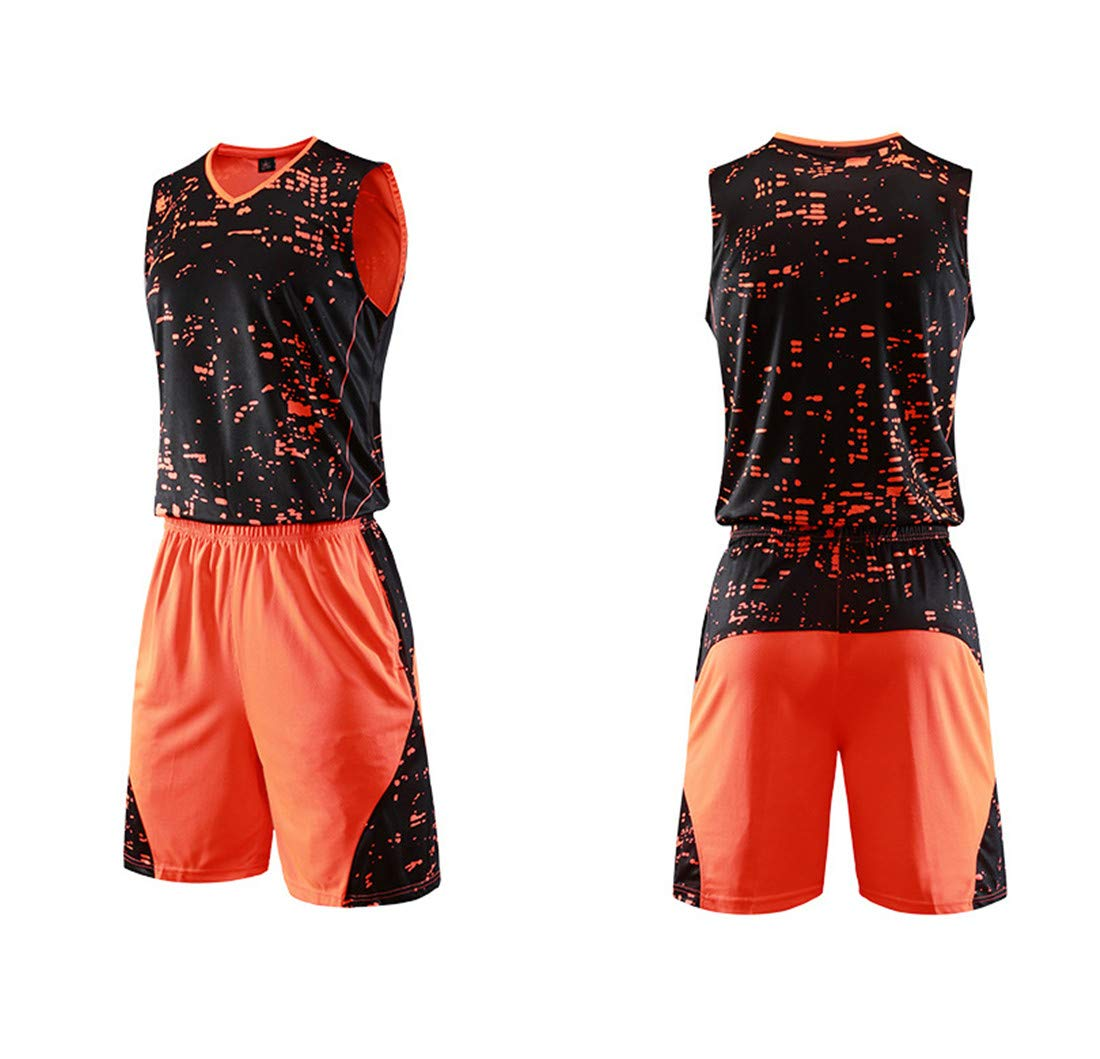 Baloncesto Camiseta De Uniforme Respirable Deportiva De Basket Jersey para Adulto Camisa De Baloncesto: Amazon.es: Deportes y aire libre