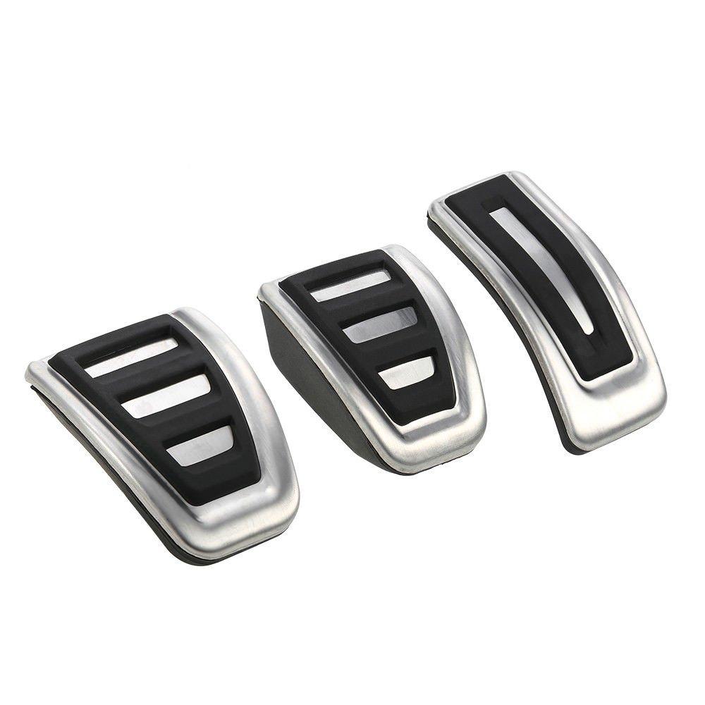 ICTRONIX Fuel Bremse Fu/ßbett Fu/ßst/ütze Pedale f/ür A4 B8 S4 RS4 A5 S5 RS5 A6 S6 A7 S7 Q5 8R SQ5