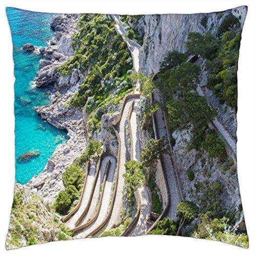 Capri Pillowcases - Capri - Throw Pillow Cover Case (18