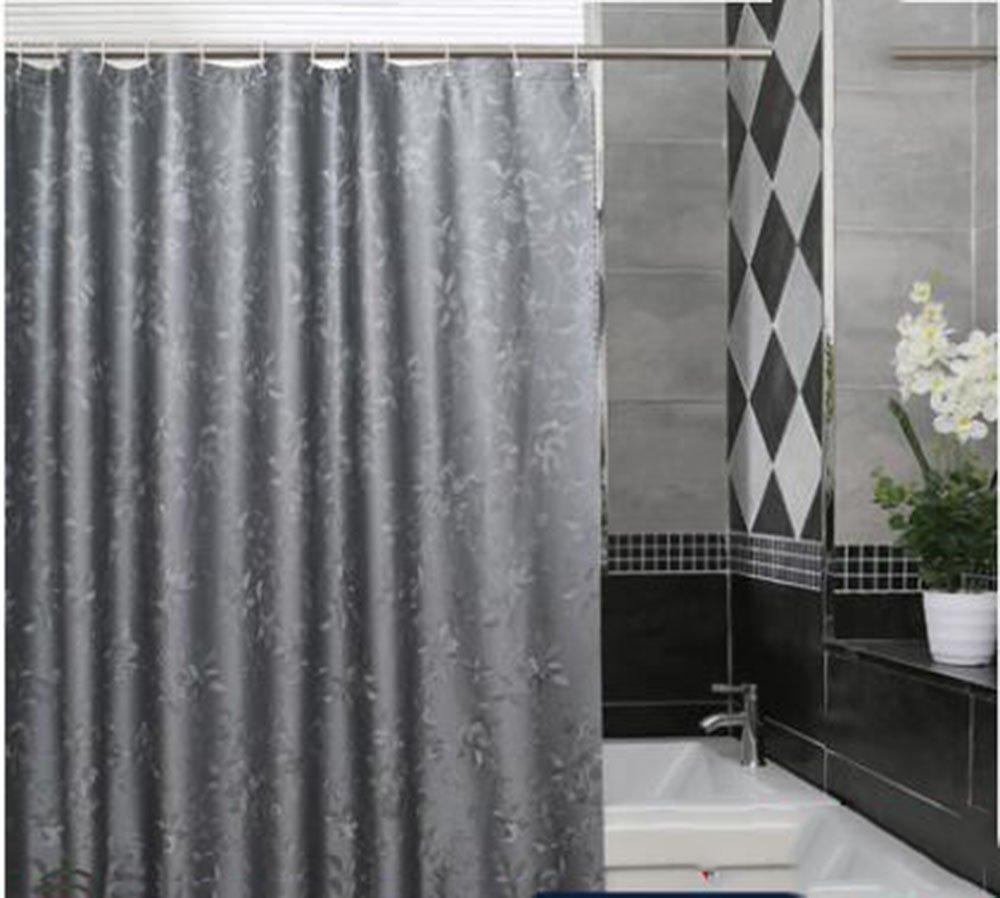 CCGG Multi-Dimensione Toilette Impermeabile Tenda della Doccia Tenda da Bagno Stampo a Prova di barriera Impermeabile Tenda Tenda Luce Tenda appesa (Dimensioni   220cmx180cm)