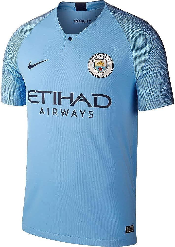 Nike Mens Soccer Jersey 2018//19 Manchester City FC Stadium Home