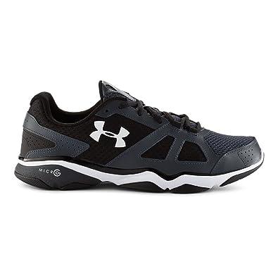 Under Armour Under Armour Men UA Micro G Strive Training Shoe Lead Black White Us Sale